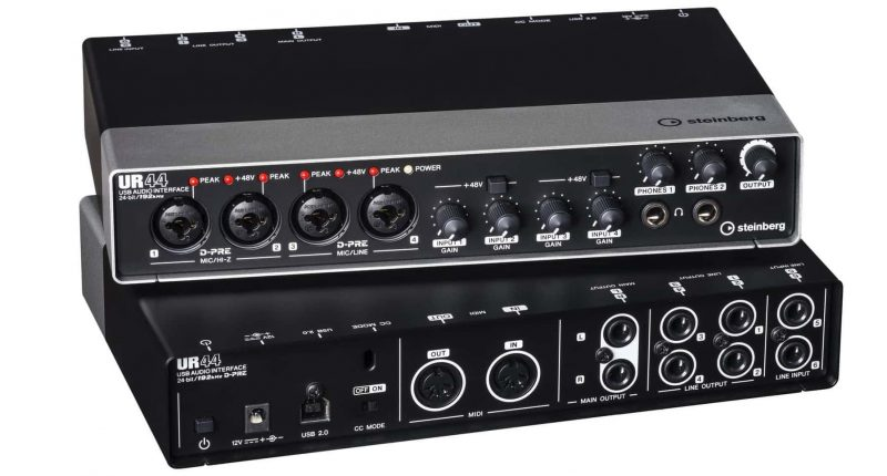 steinburg ur44 audio interface