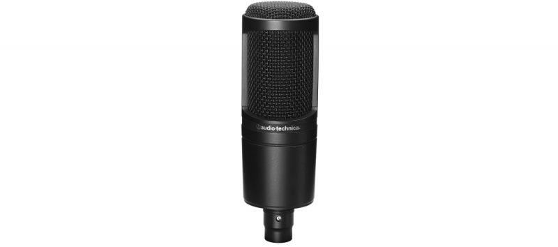 audio-technica condenser microphone