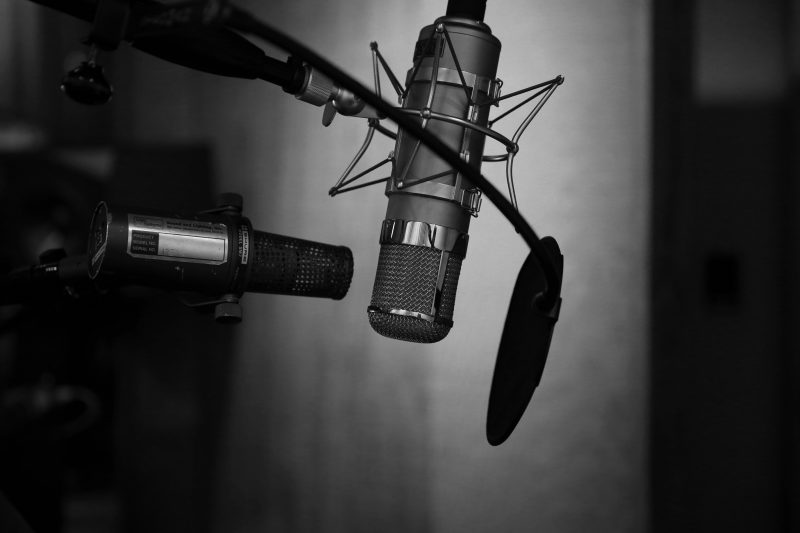recording with two microphones