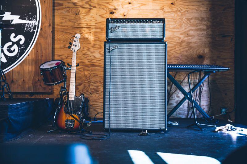 fender amplifier stack