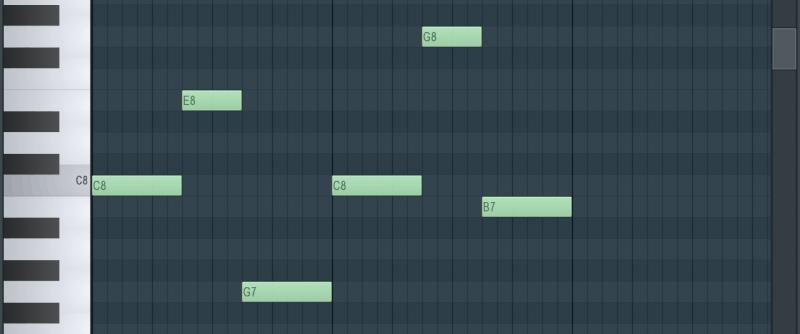 fl studio's piano roll