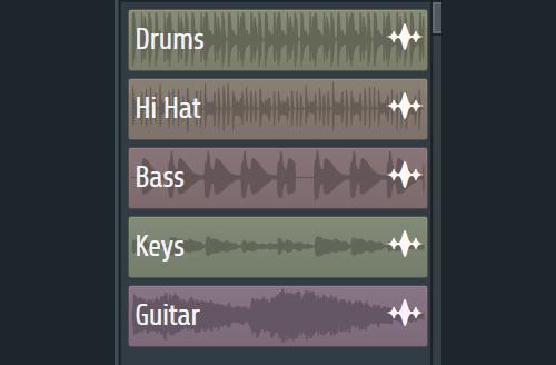 fl studio pattern list