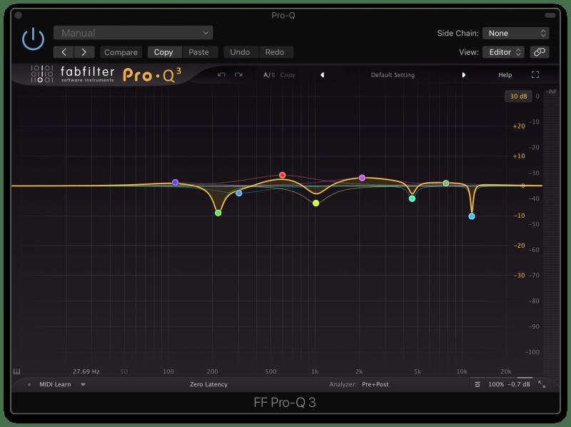 FabFilter ProQ 3 EQ