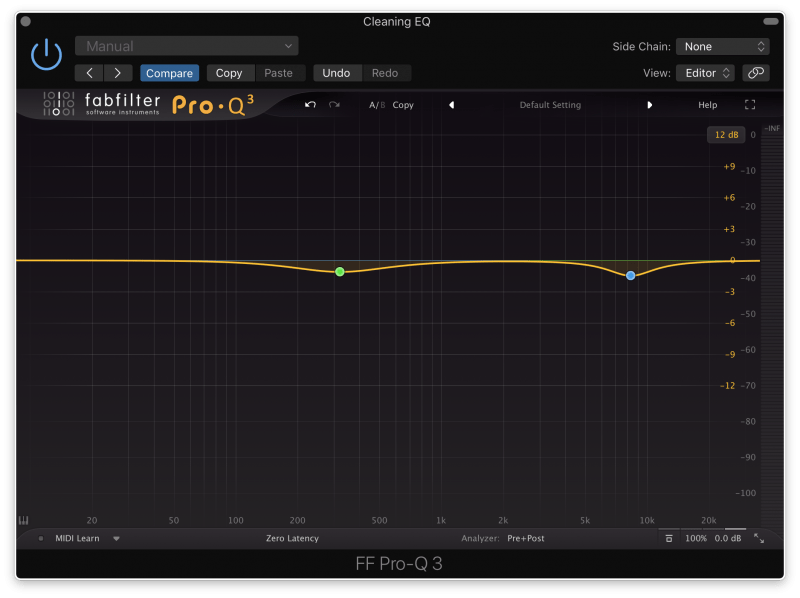 Making Small Frequency Cuts with FabFilter Pro-Q3 Mastering EQ