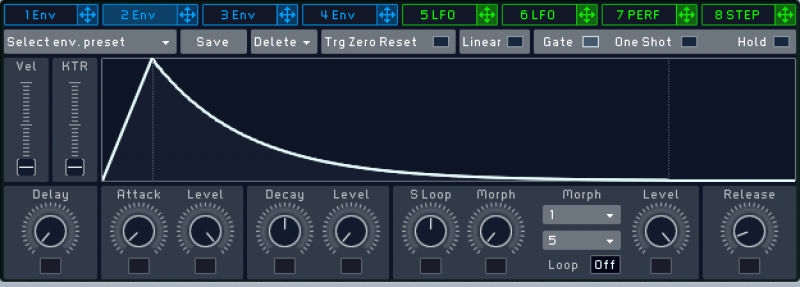 using an amplitude envelope to add movement to a kick drum