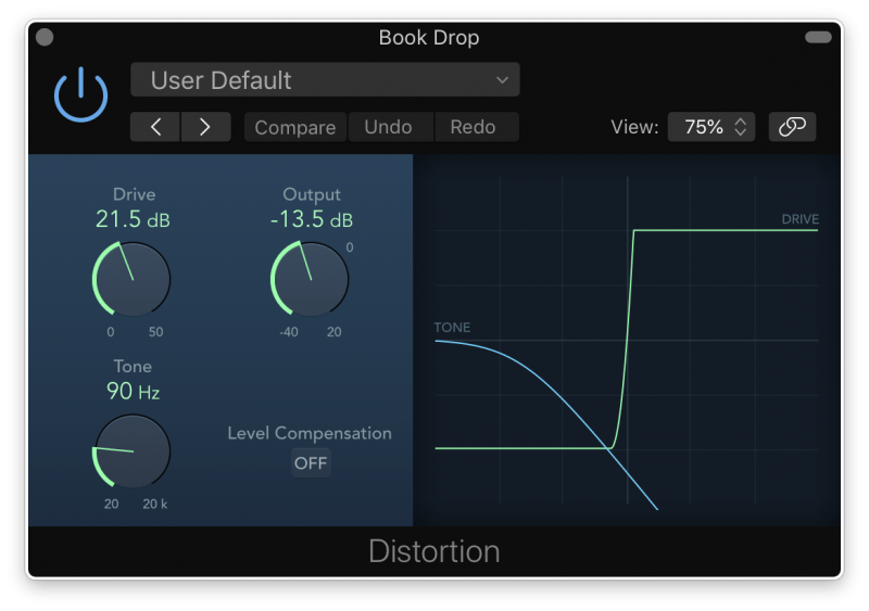 adding distortion to make a kick drum beefier