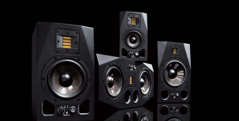 adam audio ax studio monitors