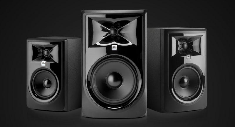 jbl 3 series mkii studio monitors