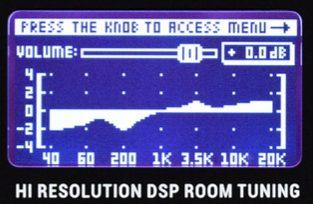 digital graphical eq on a krk g4 monitor
