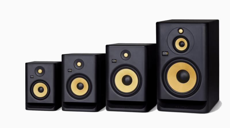 krk rokit series of studio monitors