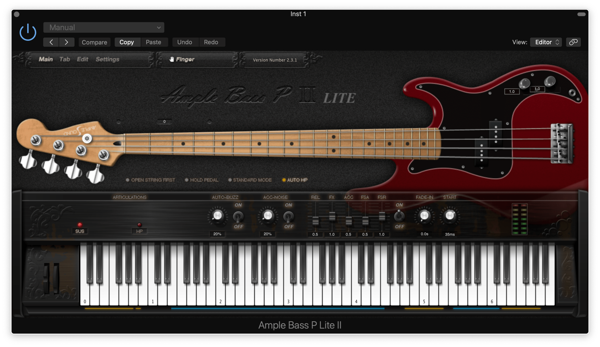 Ample Bass P Lite II