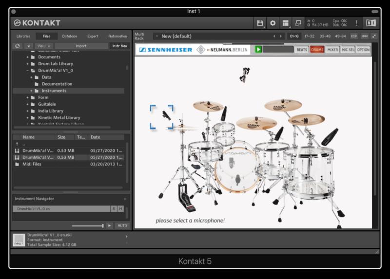 Sennheiser DrumMic'a