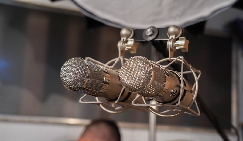 stereo condenser microphones