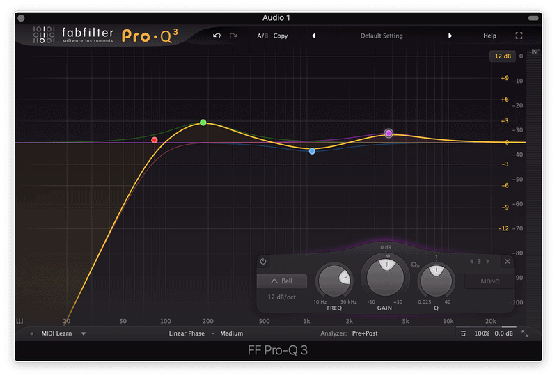 fabfilter pro-q 3 linear phase mode