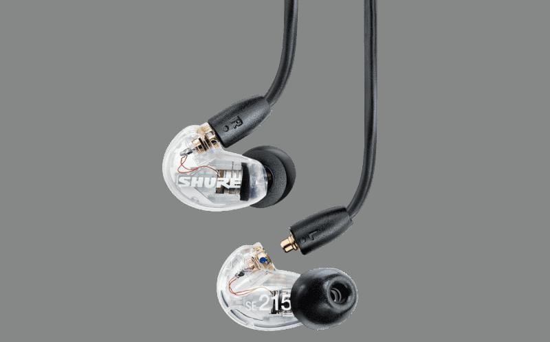 shure se215 in ear monitors