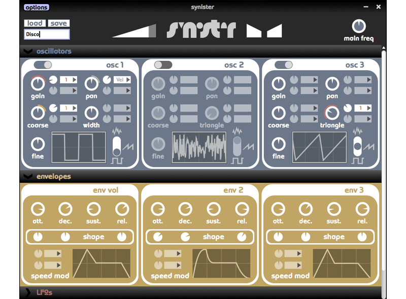 synister synth