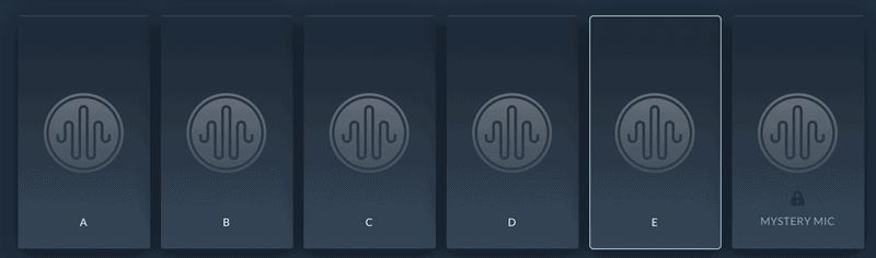 audio test kitchen blind mode