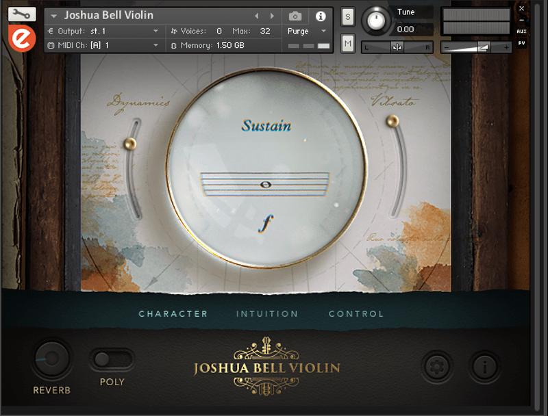 joshua bell violin kontakt library