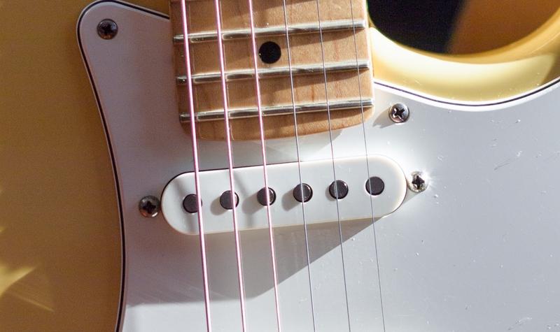 single coil guitar pickup