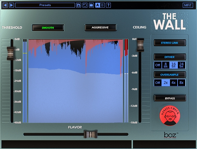boz the wall brickwall limiter