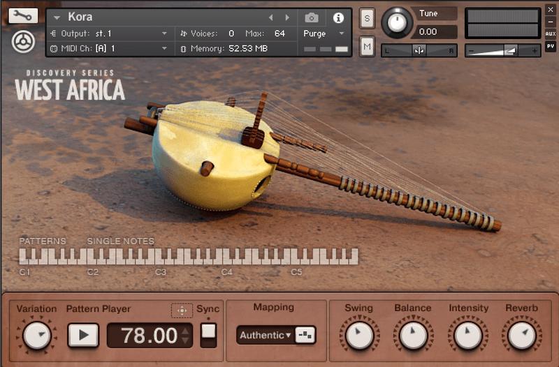 native instruments west africa kora