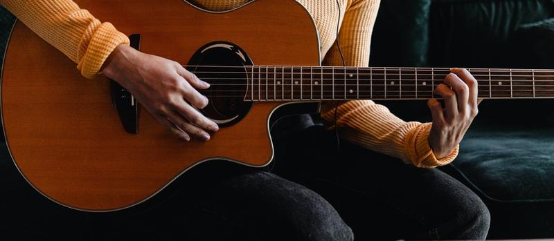 acoustic guitarist