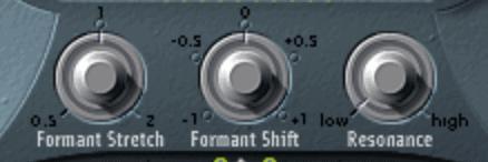 formant shifting