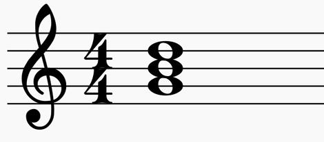 g major triad
