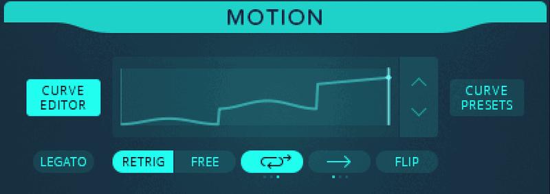 granular synth motion