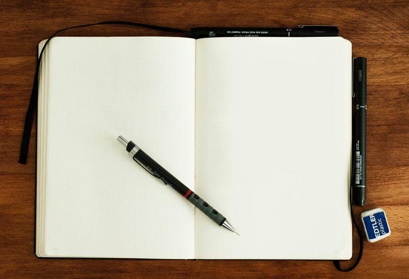 lyric writing notebook