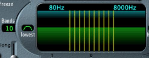 vocoder bands