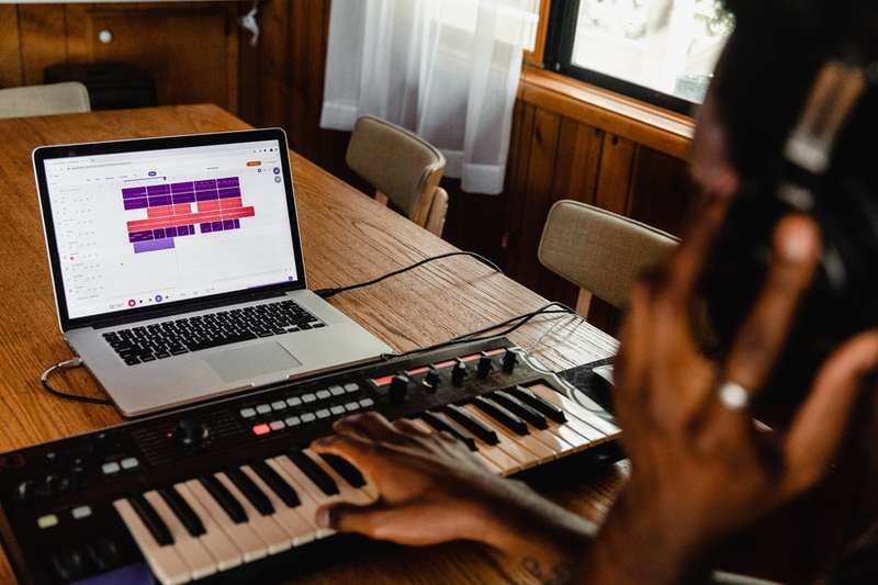 writing over a beat