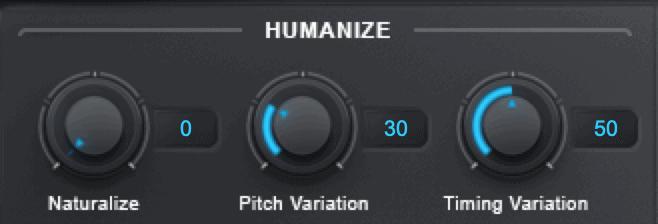 harmony engine humanize