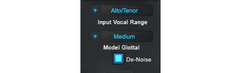input controls